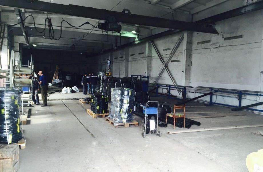 Завод по производству пластиковых труб