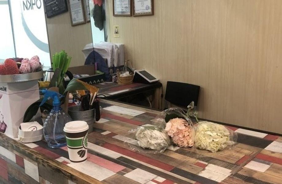 Магазин цветов возле метро с 10 летней историей