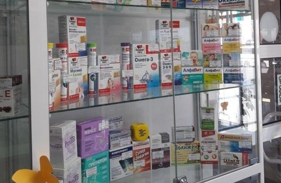 Аптека в новом спальном районе на северо-западе Москвы