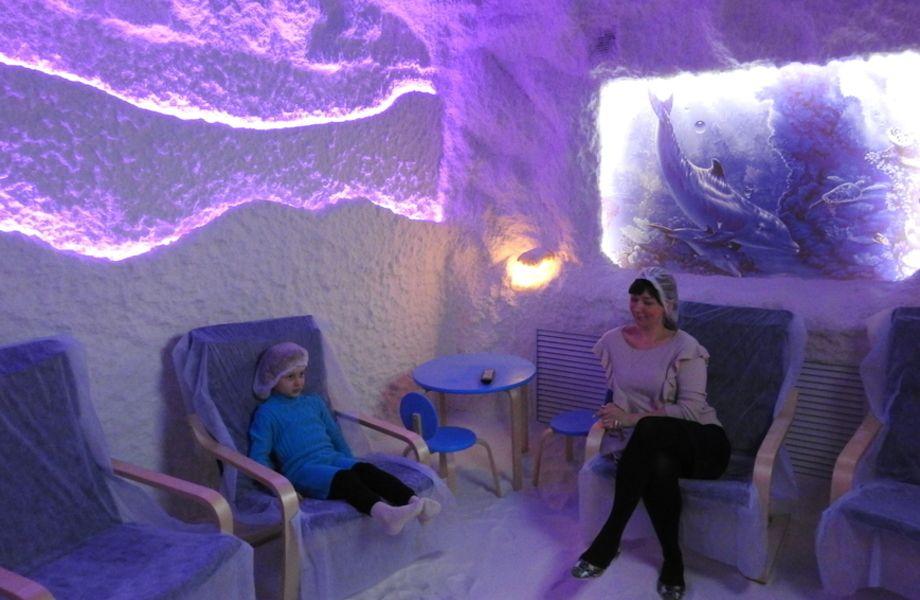 Соляная пещера/галотерапия (работает 4 года)