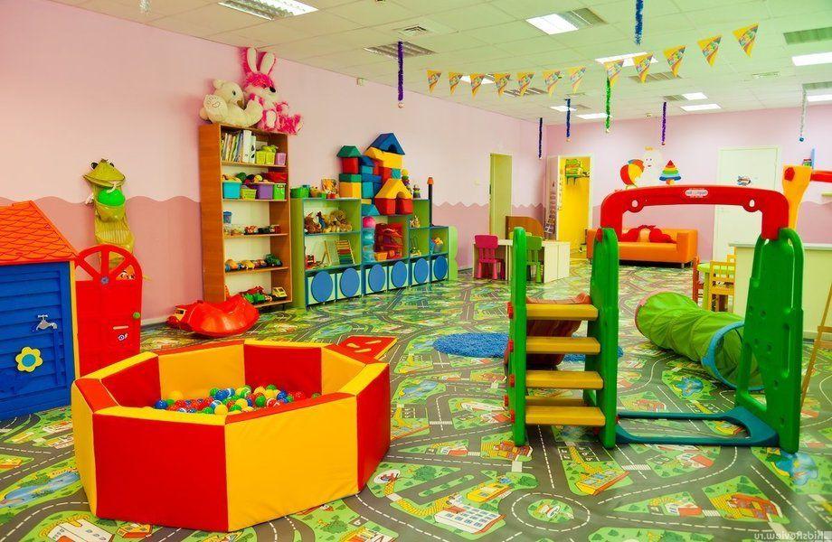 Детский сад с новым оборудованием и мебелью