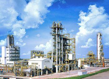 Нефтеперерабатывающий завод в Красноярске