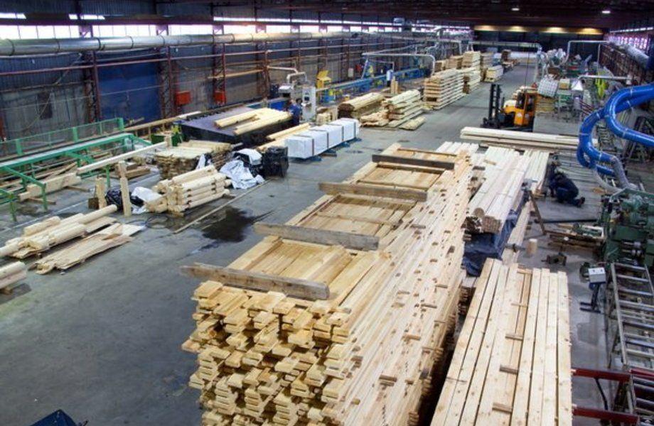 Деревообрабатывающее предприятие в Новгороде
