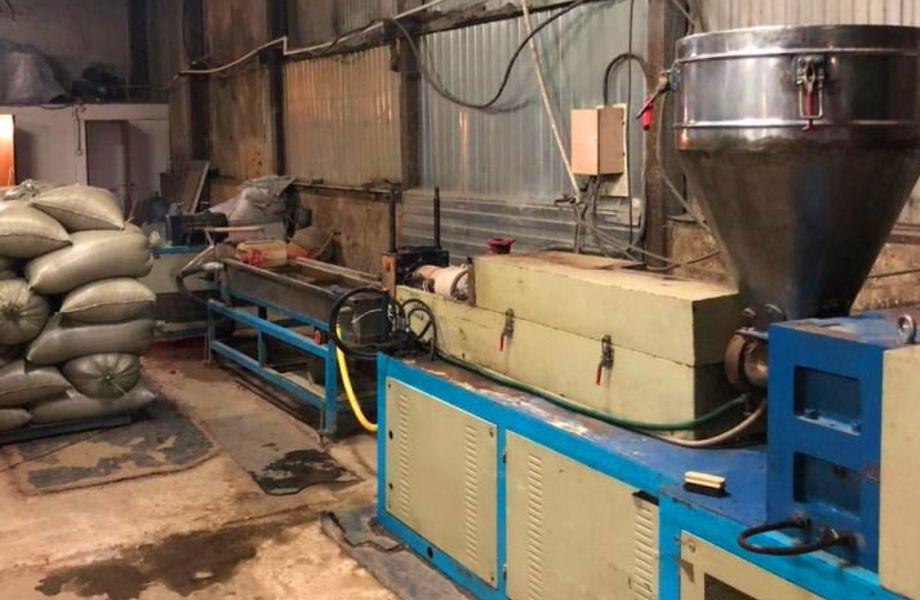 Предприятие по переработке отходов полимерного производства