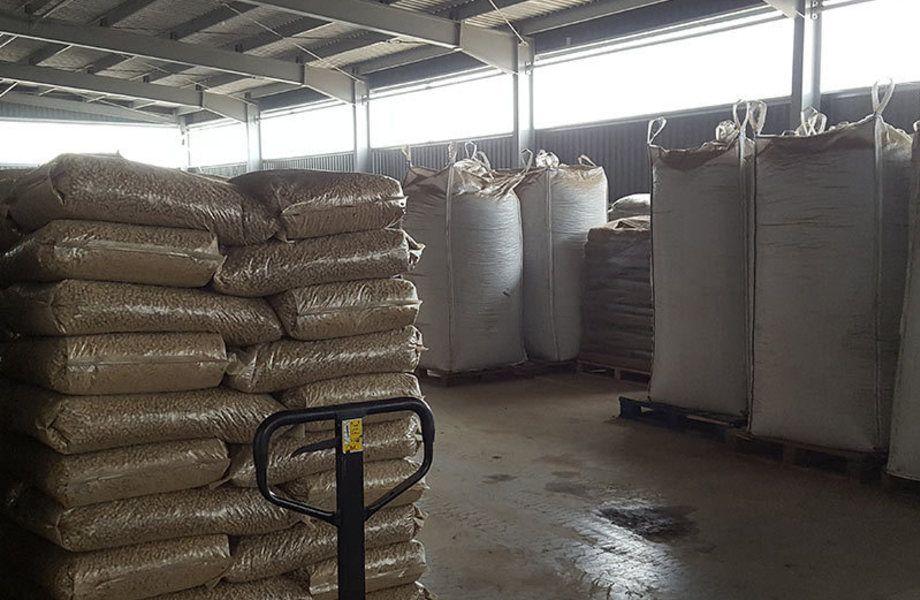 Производство пеллет в ЛО (мощность - 3 тонны/час.)