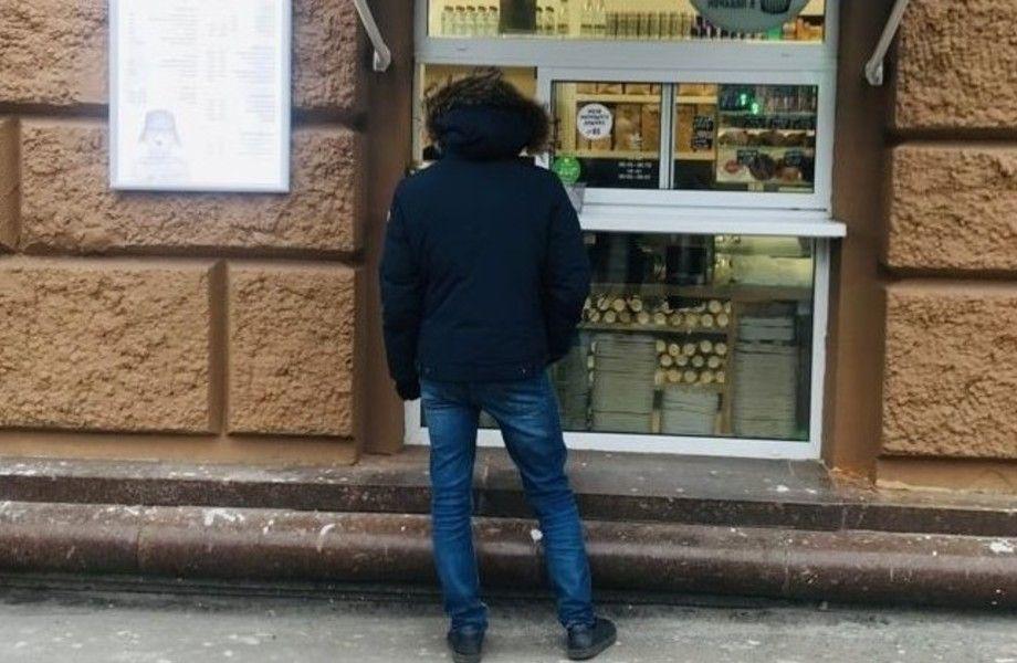 Кофейня (окно) Савеловская