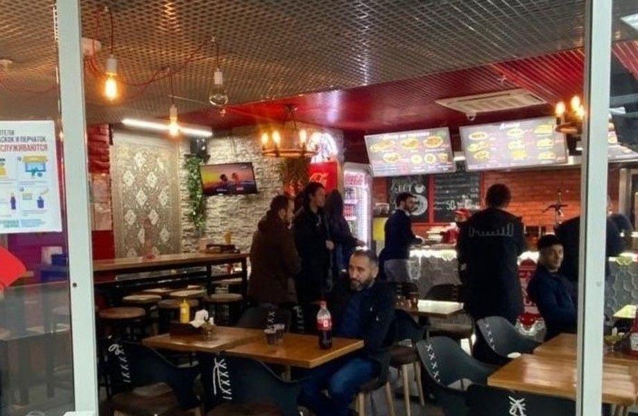 Кафе турецко-израильской кухни