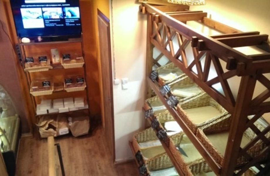 Булочная пекарня с уютной зоной кафе