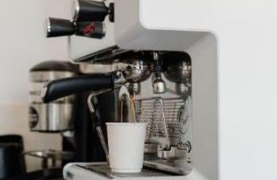 Точка кофе с собой подготовленная к работе в карантин