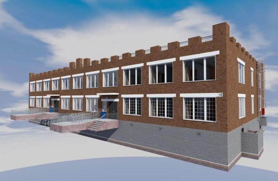 Швейное производство со зданием с собственность