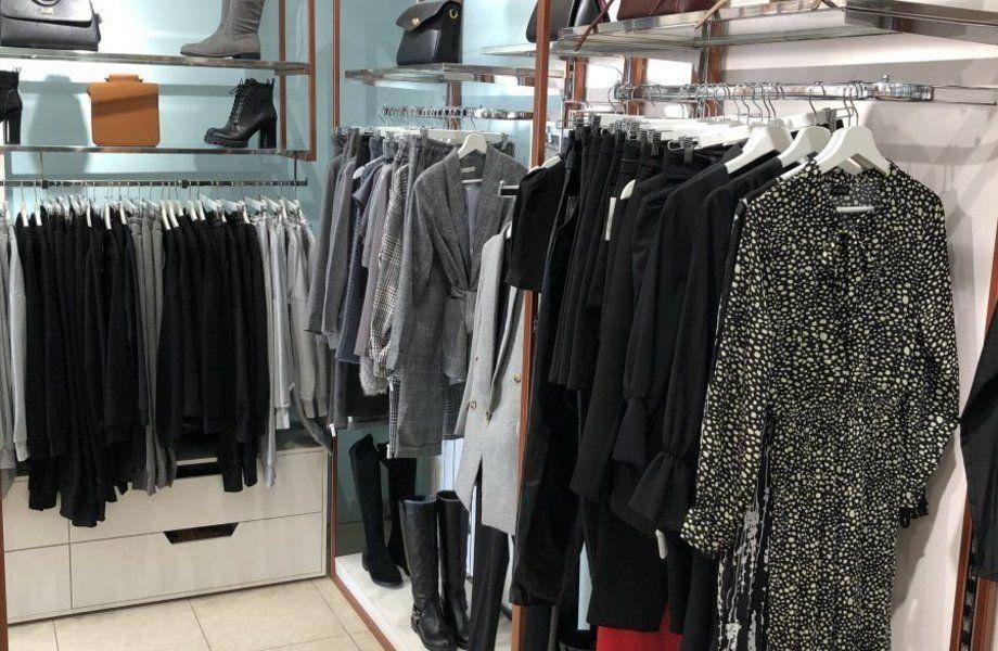 Магазин женской/мужской одежды в ТЦ Московского района