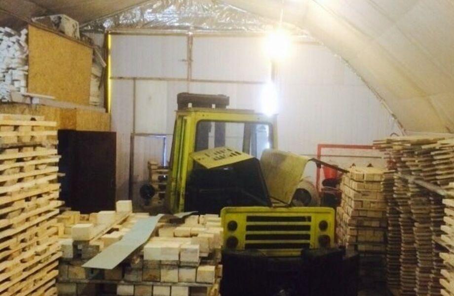 Производство деревянных поддонов (ГОСТ-3мм и 5мм)