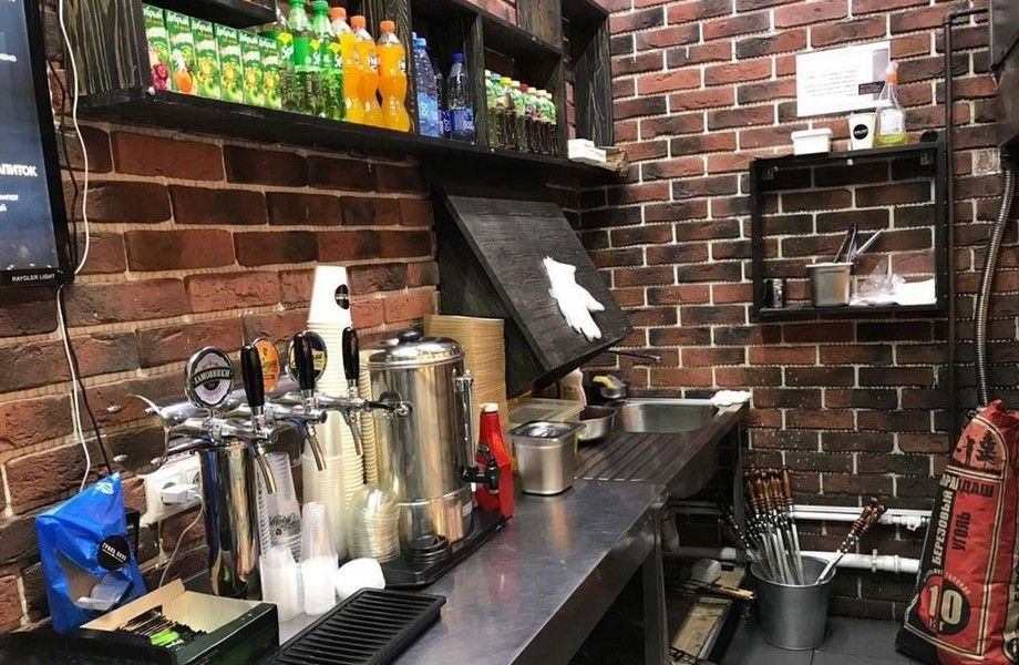 Гриль-кафе с доставкой/ Доход 180 тыс. р.