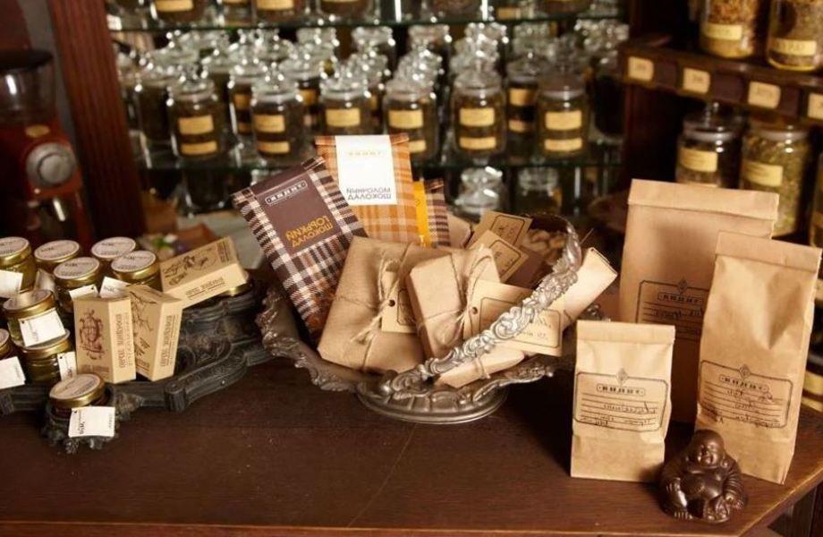 Магазин чая и кофе / Топ локация