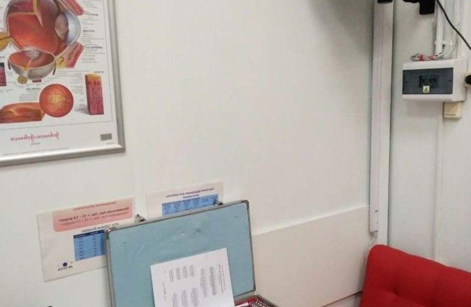 Магазин оптики с кабинетом врача