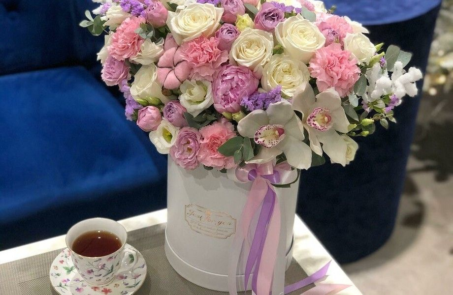 Бутик цветов на Новом Арбате (3 года в работе)