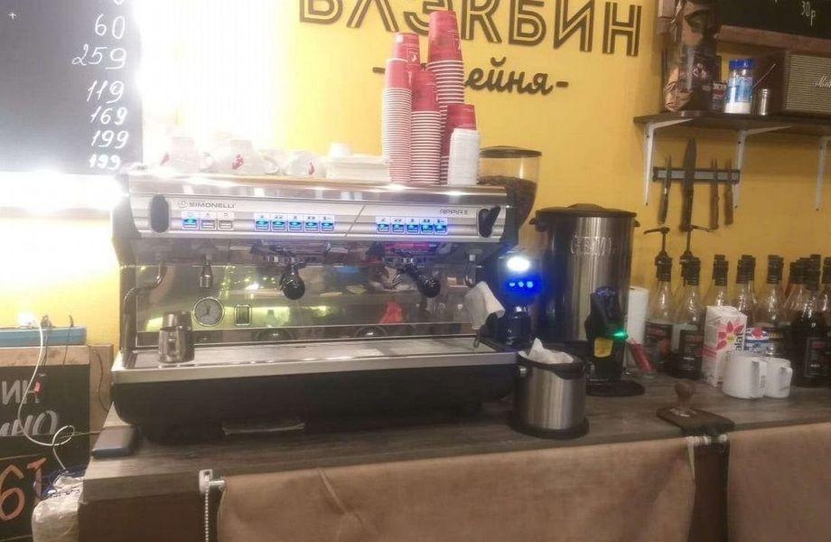 Кофейня у метро Водный стадион