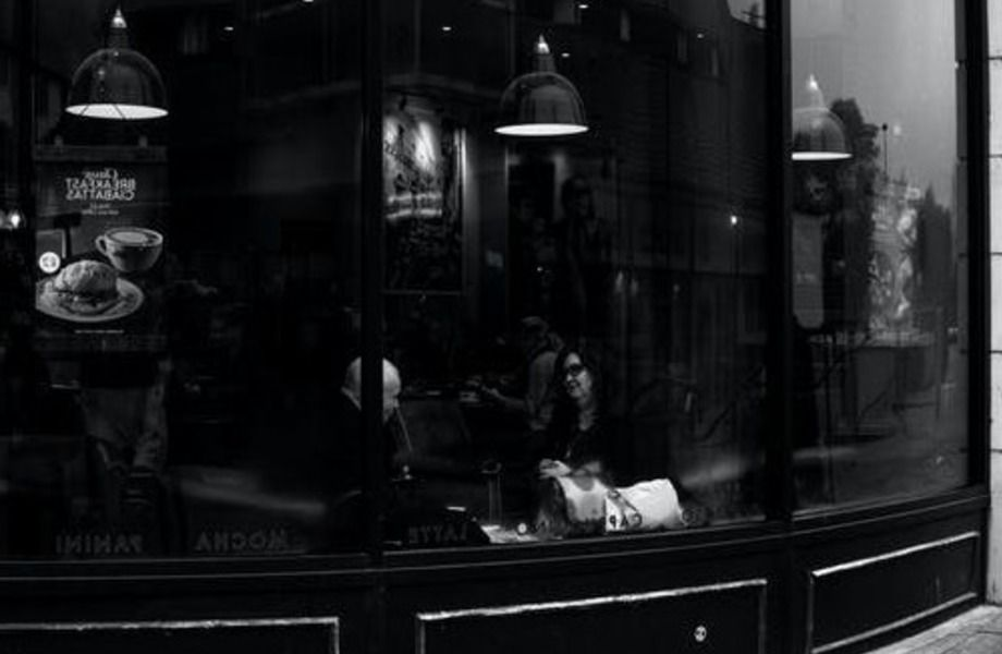 Кофейня со съедобными стаканчиками.