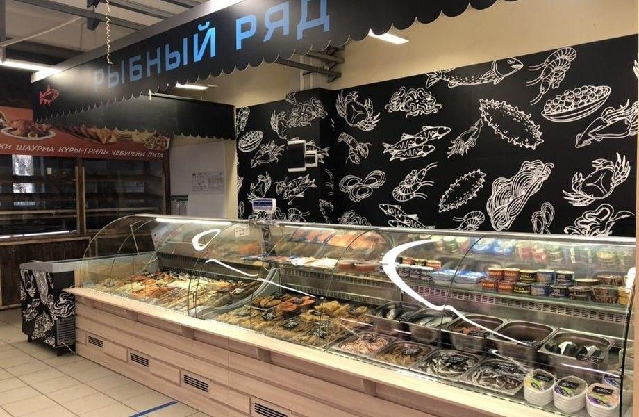 Магазин морепродуктов (доход от 90 000 рублей)