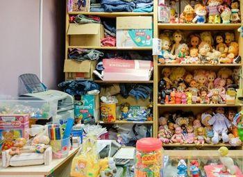 Магазин игрушек (рядом школа и детский сад) / Работает 3 года