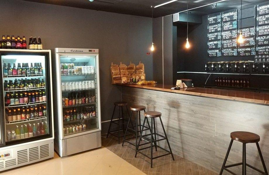 Магазин-бар крафтового пива со стабильной прибылью 150 тыс. р