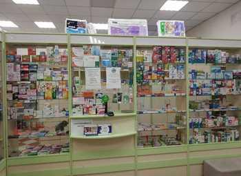 Сеть аптек (работает 5 лет) рядом с медицинскими центрами