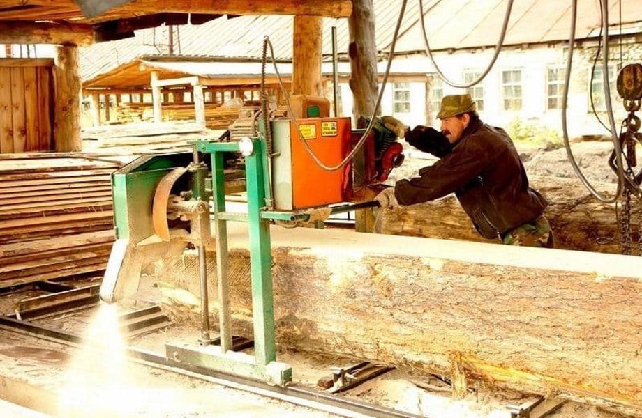 Лесопилка с землей собственность (работает 16 лет)
