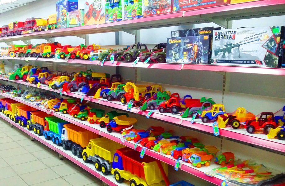 Магазин игрушек с товарным остатком на 1 млн рублей