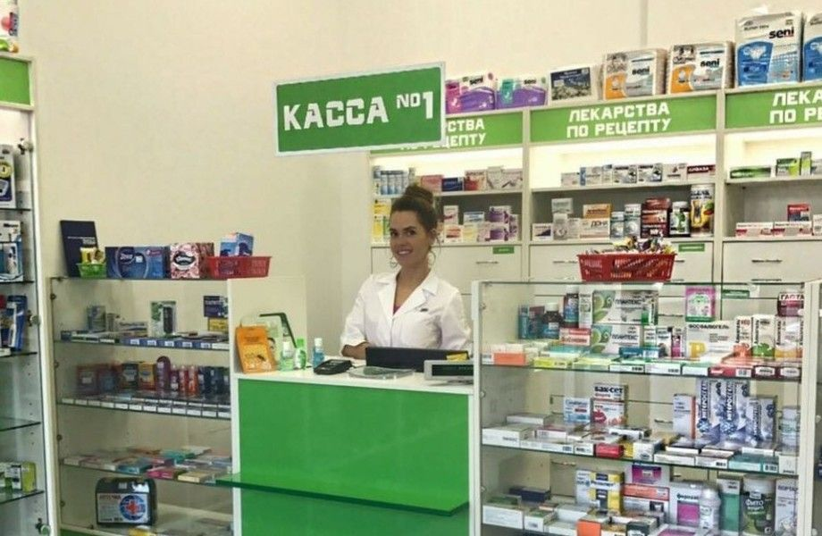 Аптека в элитном ЖК / Работает 4 года