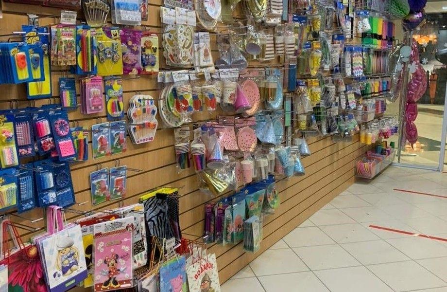 Магазин товаров для праздника с подтвержденной прибылью