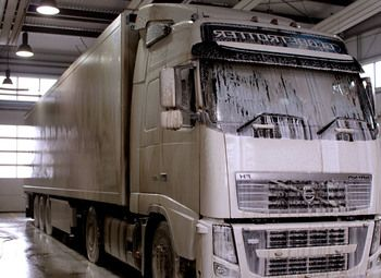 Мойка грузовиков и спецтехники 24 часа.