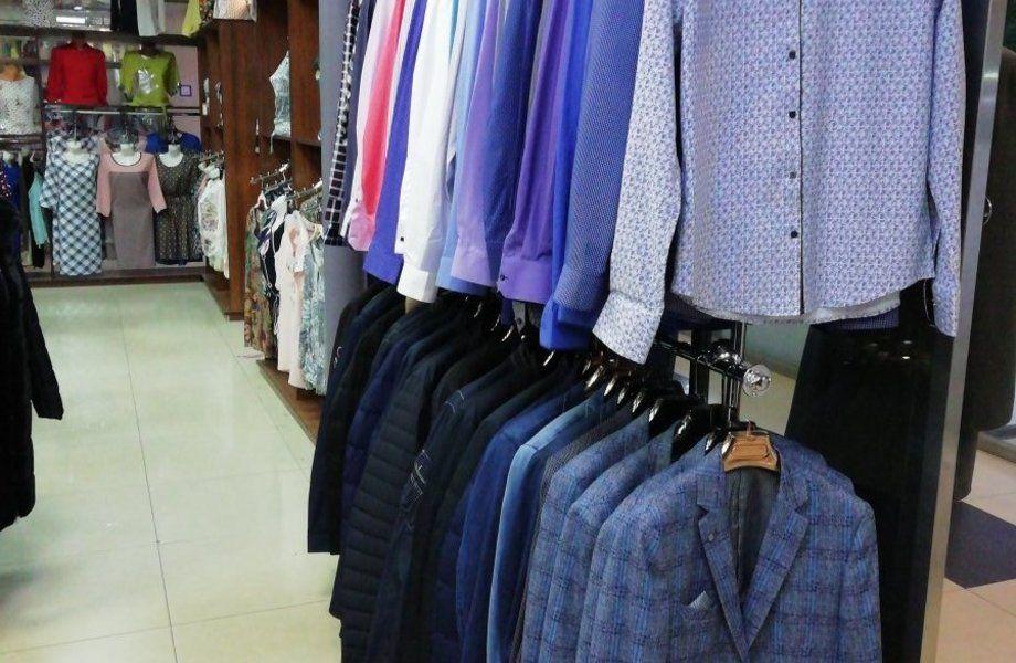 Магазин мужской одежды/ Работает 20 лет