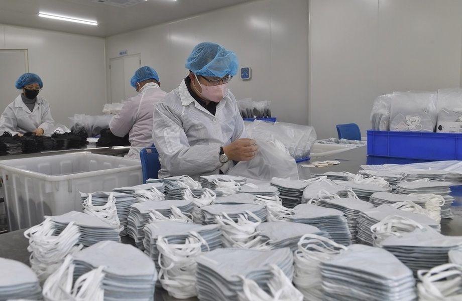 Цех по производству масок / Доход около 1 млн