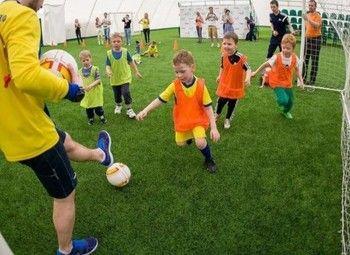 Известная футбольная школа для детей / работа по премиальной франшизе