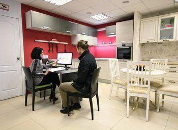 Мебельный салон кухонь и корпусной мебели в ТРЦ (7 лет)