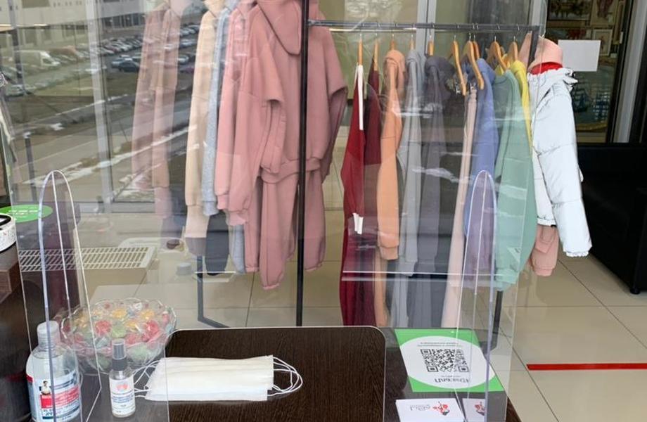 Магазин женской одежды в ТК / Доход 100 тыс