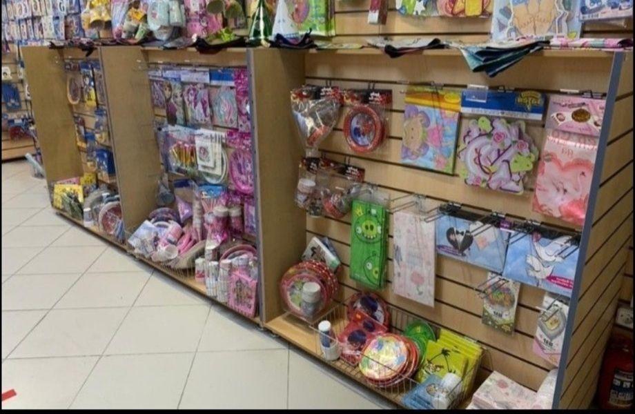 Магазин товаров для праздников (бизнесу 6 лет)