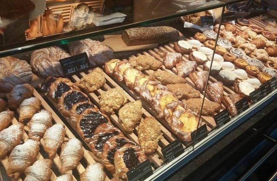 пекарня в центре города с большими перспективами