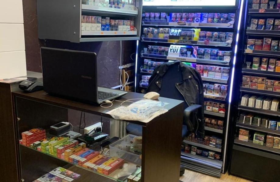 Табачный магазин в микрорайоне и с широким ассортиментом