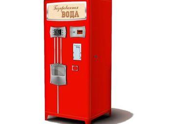 Сеть вендинговых аппаратов по продаже газированных напитков