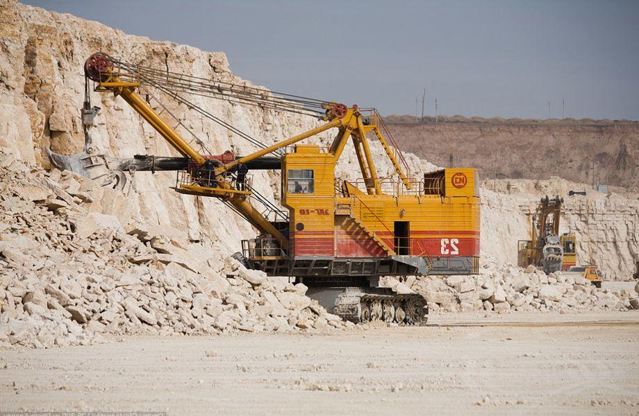 Месторождение строительной глины (140 га)