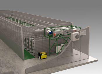 Оборудование для грибной фермы