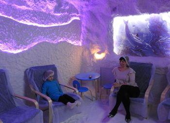 Соляная пещера на Рыбацком