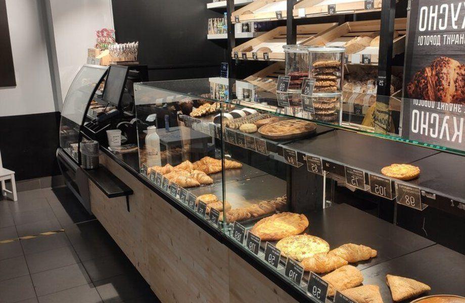 Пекарня с высоким трафиком покупателей