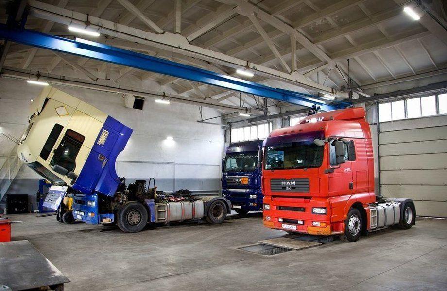 Автосервис грузовых авто с высокой прибылью (15 лет)