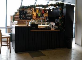 Кофейня с хорошей проходимостью и выручкой в 190 тыс.