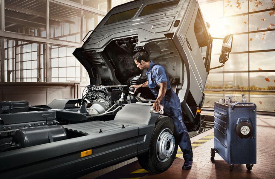Дилерская станция по ремонту и техническому обслуживания грузовых авто