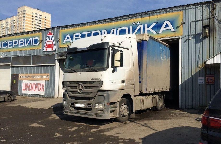 Автомойка грузовых авто + 28 безналичных договоров на обслуживание