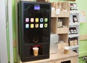 Вендинговый автомат нового поколения по франшизе / поддержка