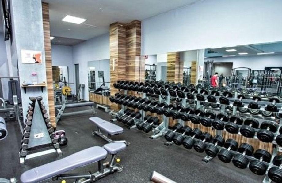 Единственный в локации фитнес-клуб
